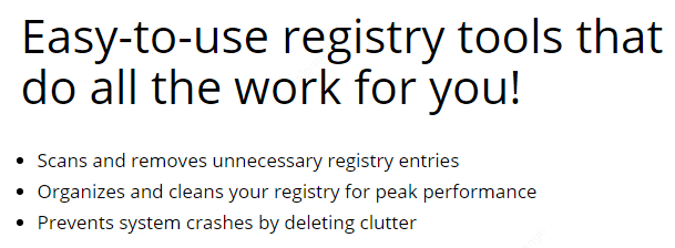 WinZip Registry Optimizer Feature