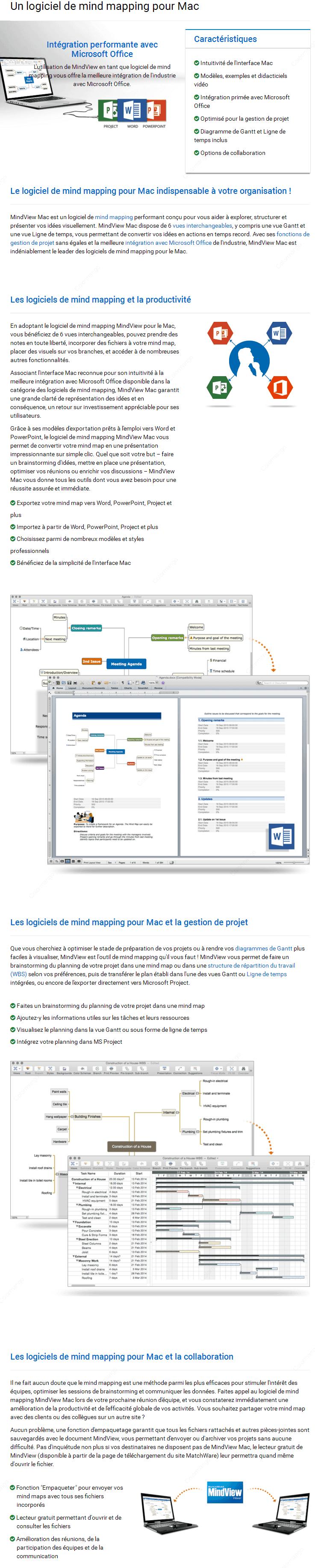 Mindview mac achat en ligne prix essai gratuit evaluations et avis dtails sur le produit mindview mac ccuart Gallery