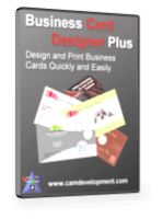 Business Card Designer Plus Shopping & Trial