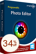 Program4Pc Photo Editor Discount Coupon