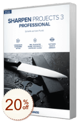 Sharpen projects Discount Coupon