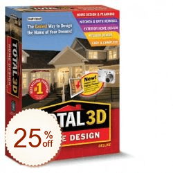 Total 3D Home Design Deluxe Discount Coupon