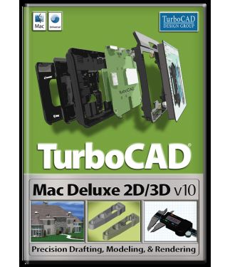 TurboCAD Mac Deluxe 2D/3D Shopping & Trial