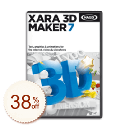 Xara 3D Maker Discount Coupon
