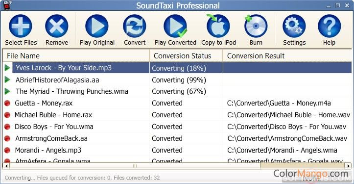 SoundTaxi Professional Screenshot