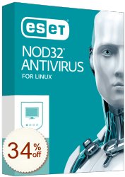 ESET NOD32 Antivirus pour Linux Discount Coupon