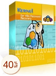 Kernel for VBA Password Recovery Discount Coupon