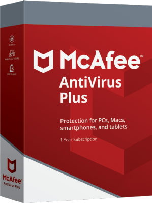 McAfee AntiVirus Plus Discount Coupon