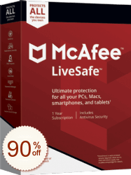 McAfee LiveSafe Shopping & Review