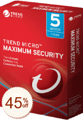 Trend Micro Maximum Security de remise