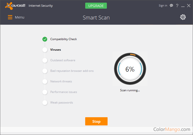 Avast Internet Security Screenshot