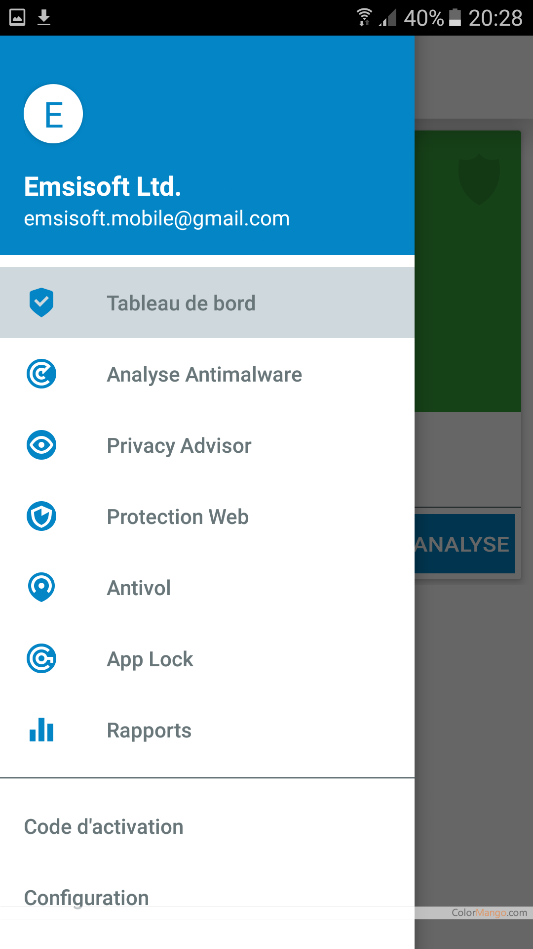 Emsisoft Mobile Security Screenshot
