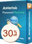Asterisk Password Recovery Discount Coupon