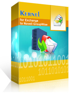 Kernel for Exchange to GroupWise promo code