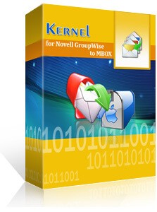Kernel for GroupWise to MBOX promo code