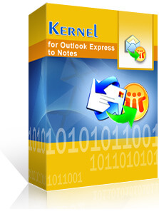 Kernel for Outlook Express to Notes promo code