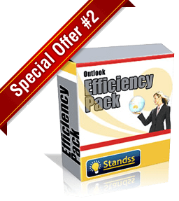 Standss Special Outlook Efficiency Pack