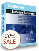 DataNumen Exchange Recovery Shopping & Trial
