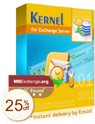 Kernel for Exchange Server Recovery Discount Coupon