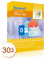 Kernel Import PST to Office 365 Discount Coupon
