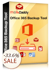 MailsDaddy Office 365 Backup Tool Discount Coupon