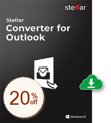 Stellar Converter for Outlook Discount Coupon