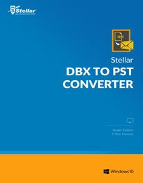 Stellar DBX to PST Converter Discount Coupon