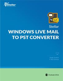 Stellar Windows Live Mail to PST Converter Discount Coupon