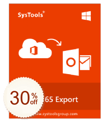 SysTools Office 365 Export Discount Coupon