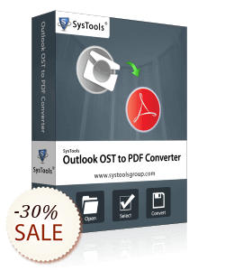 SysTools Outlook OST to PDF Converter Discount Coupon