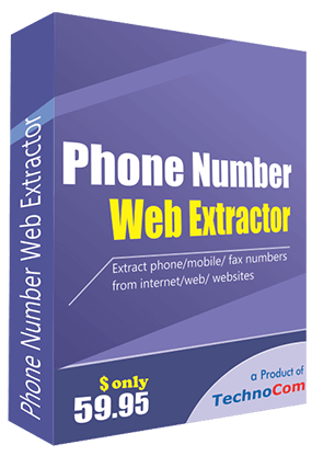 Phone Number Web Extractor 10% de remise
