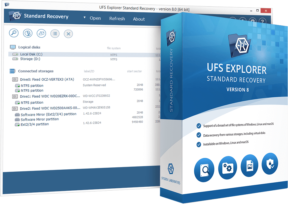 UFS Explorer Standard Recovery promo code