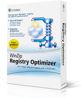 WinZip Registry Optimizer Boxshot