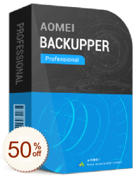 AOMEI Backupper Professional de remise