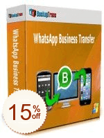 Backuptrans WhatsApp Business Transfer Discount Coupon