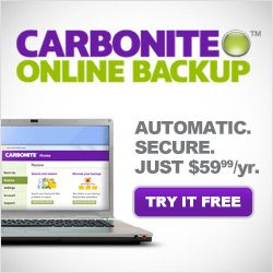 Carbonite for home Shopping & Review