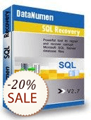 DataNumen SQL Recovery Shopping & Review