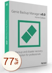 Genie Backup Manager Home Discount Coupon