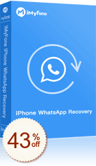 iMyFone iPhone WhatsApp Recovery Discount Coupon