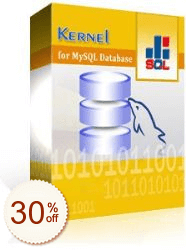 Kernel for MySQL Database Discount Coupon