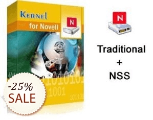 Kernel Novell Server Recovery Pack Discount Coupon