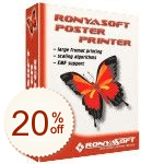 RonyaSoft Poster Printer de remise