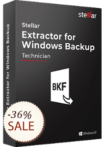 Stellar Extractor for Windows Backup Discount Coupon
