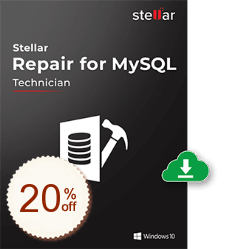 Stellar Repair for MySQL Discount Coupon