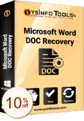 SysInfoTools MS Word Repair Tool Discount Coupon