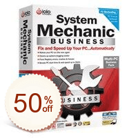 System Mechanic Business Info sur l'escompte