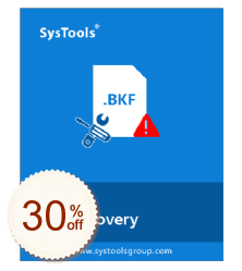 SysTools BKF Repair Discount Coupon