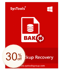 SysTools SQL Backup Recovery Discount Coupon