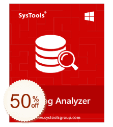 SysTools SQL Log Analyzer de remise