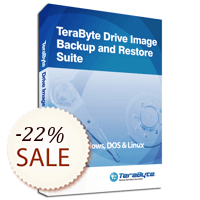 TeraByte Drive Image Backup and Restore Suite Discount Coupon